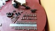 Antique Colectable Waltham Watch Clock Lathe 80+ Parts Wathermaker Tool Stark