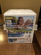 Intex 12x30 Easy Set Pool With Filter Pump - Ships Fast