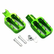 New Dirt Bike Cnc Foot Pegs Rests Pedal Fit For Mx Crf50 Xr50 Pw50 Pw80 Ttr50
