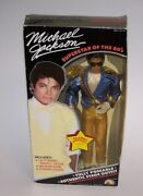 Michael Jackson Superstar Of The 80s Fully Poseable Authentic Stage Outfit 1984