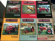 Lot Of 6 International Harvester Red Power Magazines Full 2003 Year Tractor Farm