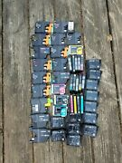 Lot Of Various Genuine Brother, Canon, Epson Empty Ink Jet Cartridges 40+ Carts
