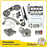 Head Gasket Set W/ Timing Chain Water Oil Pump Kit For 07-08 Chevy Cobalt 2.2l