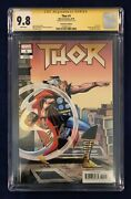 Thor 1 Remastered Edition Jack Kirby Variant 1500 Cgc Ss 9.8 Signed By Stan Lee