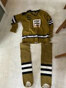 Vintage Old Lucky Light Draft Beer Durene Stall And Dean Hockey Jersey And Socks