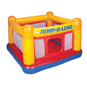 Intex Inflatable Jump-o-lene Playhouse Trampoline Bounce House For Kids Ages 3-6