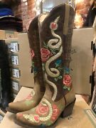 Brand New Junk Gypsy By Laneleather Snake Charmer Boot Us Size 6