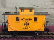 Lgb 4065 G 01 - Colorado And Southern Caboose - G Scale