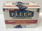 1999 Fleer Tradition Baseball Update 150cd Factory Sealed Set W/ Traded And Rookie