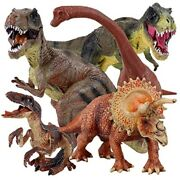 5pcs Jumbo Dinosaur Set13andrdquo Realistic Looking Toy For Party Giftboys Girls
