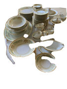 Vintage Antique Noritake China Made In Occupied Japan 76 Piece