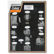 Colony 1002-p Complete Show Bike Kit Chrome Smooth Allen Hardware Harley 1993-9