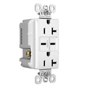Pass And Seymour Hospital Grade Usb Charging Receptacle 20a Type C Tamper White
