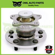 Rear Wheel Bearing And Hub For Toyota Camry Avalon Solara And Lexus Es300 Abs