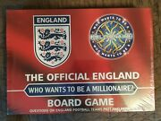 New Who Wants To Be A Millionare. The Official England Board Game.