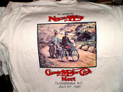 1907-31 Excelsior Motorcycle T-shirt-small Size-very Cool-last One
