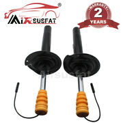 For Bmw E38 740i 740il 750il Pair Front Air Suspension Strut Damper With Edc New