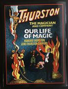 Howard Thurston-the Magician And Company-our Life Of Magic-book