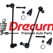 4pc Front Sway Bar End Link Lower Ball Joint For 03-07 Nissan Murano 03-09 Quest