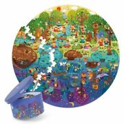 Puzzles Toys Educational Toys Hand-painted Jigsaw Board Style Puzzles Box Set