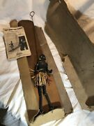 Rare 1941 Tap Dancing Dinah Puppet By Waddy Productions London Folk Art
