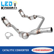 For 2007 To 2009 Jeep Wrangler Jk 3.8l Catalytic Converter Front Exhaust Y-pipe