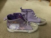 Disney Sofia The First Kids Girls Sneakers Flat Comfort Shoes 11