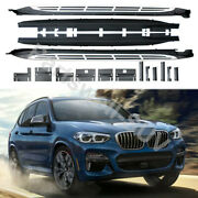 Fits For Bmw X3 G01 2018-2021 Running Boards Side Steps Pedal Nerf Protector Bar