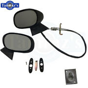 1971-1972 71-72 Cutlass 442 Outer Sport Remote Mirrors New