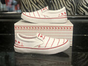 In-n-out Burger Drink Cup Shoes Sold Out Sz 9m 10.5w Slip On White/red
