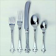 Ginkgo 079914-63005-4 Crusader 5 Piece Place Setting - 18-10 Stainless - Hamm...