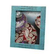 Red Pomegranate 121-6 Crock 8 X 10 In. Turquoise Photo Frame