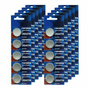 100pk Renata Coin Cell Battery Cr2477 Lithium Replaces Dl2477, Cr2477