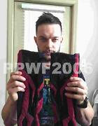 Wwe Finn Balor Ring Worn Hand Signed Demon Arm Sleeves With Proof And Coa Rare