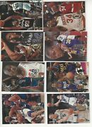 1994-95 Flair Starter Lot Of 44 Different Nm/mt See List