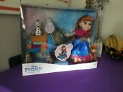 New Disney Frozen Toy Anna Olaf Sven Toddler Doll Set Brand New Gift Set Ages 3+