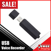 25-day Standby Usb Voice Recorder 288 Hours High Quality Recording 8gb