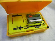 Vintage 1970's Toy Power Mite Orbital Sander Tool By Ideal Toys W/case