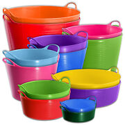 Red Gorilla Tubtrug Flexible Tub For Building Sites Mixing Carrying Storage