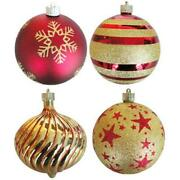 Christmas By Krebs Tv310005a 5.9 In. Diameter Decorated Shatterproof Ornament...