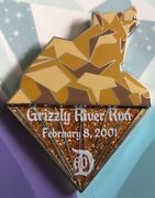 Disneyland 60th Diamond Celebration Grizzly River Run Board Game Completer Pin