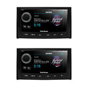 Rockford Fosgate Pmx-8dh Punch Marine Wired 5 Display Controller 2 Pack
