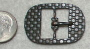 Small Civil War Relic High Quality Buckle May Be For A Hat Band