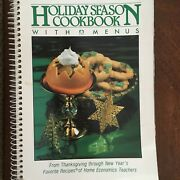 Vintage Cookbook Spiral Bound Recipes Holiday Season Menus 1981 With Pictures