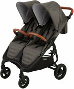 Valco Baby Snap Duo Trend Stroller In Charcoal - Brand New Open Box