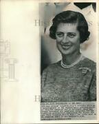 1964 Press Photo Mary Scranton Wife Of Presidential Candidate In Baltimore