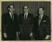 1968 Press Photo Paul N. Howell With Other Southwest Research Institute Officers