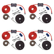 Rockford Fosgate 4 Awg Amplifier Power And Signal Installation Kit 4 Pack