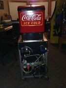 Collectible Coke Fountain Dispense. Set Up For Box Or Tank Syrup