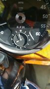 Jaguar Xke And Mk2 Smiths Clock Excellent Working Condition , Fits In Tachometer